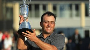 Francesco Molinari wins Open as Woods falls short