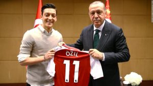 Mesut Ozil quits Germany team, citing racism