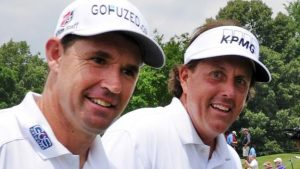 Harrington criticises Mickelson 'madness' at US Open