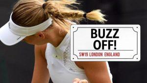 Wimbledon 2018: Caroline Wozniacki attacked by flying ants on court