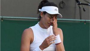 Champion Muguruza out of Wimbledon as shocks continue – highlights & report