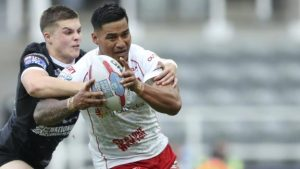 Super League: Hull KR v Warrington Wolves