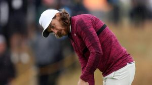 The Open 2018: Tommy Fleetwood makes third birdie of the day