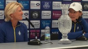 Solheim Cup: 'Catriona Matthew & Kathryn Imrie can inspire compatriots'