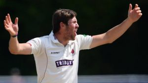 Somerset overcome resilient Pears to go second