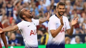 Llorente and Moura doubles see Spurs beat Roma