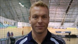 Chris Hoy learned on girl's bike