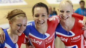 GB women smash pursuit world record