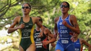 Jenkins second in World Triathlon