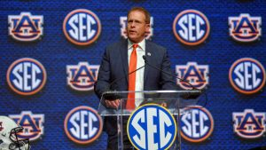 Auburn's Gus Malzahn joins Nick Saban in advocating for nine-game SEC schedule