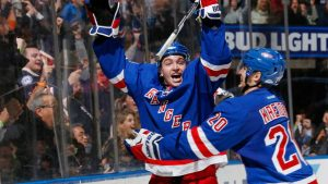 Rangers agree to deal with free agent Vesey