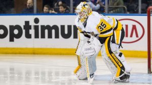 Pens sign backup goaltender Jarry to 2-year deal