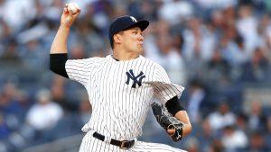 Yanks' Tanaka looks sharp, fans 4 in rehab start
