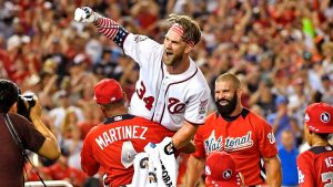 Bryce brings down the house with epic Home Run Derby comeback