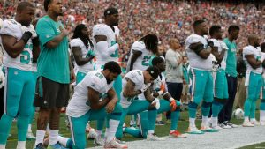 NFL, NFLPA agree to freeze anthem rules for now