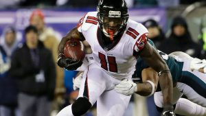 Falcons WR Jones to report to camp, GM says